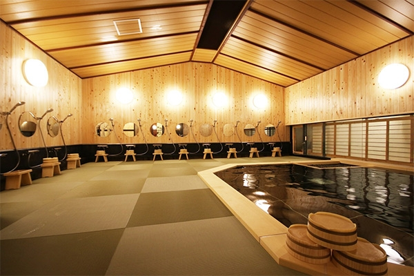 東館地下1階大浴場