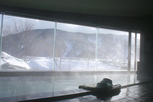 スキー場温泉「やすらぎ」内湯