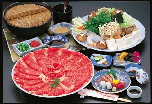 デラックスプラン「近江牛すき焼き」