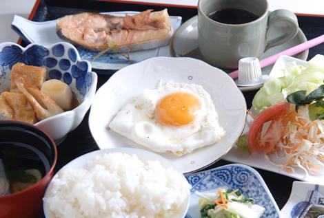 朝食一例(現地申込・現地払い)